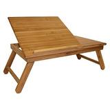 Simplemente Bambú Del Ordenador Portátil Plegable Portátil