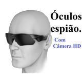 Óculos De Sol Espião Câmera Hd Ciclismo Trilha Pesca Moto
