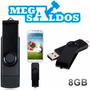 Megasaldos Pendrive 8gb Otg Usb + Microusb Tablet Celular Pc