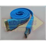 Cable Para Iphone Azul Usb 700072