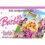 Candy Bar Impr Barbie Escuela De Princ Tarjetas Cumple Y Mas