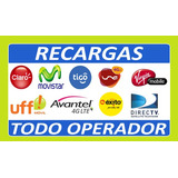 Recargas De Saldo Claro, Movistar, Tigo, Directv