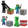 Figura Minecraft Muñeco Articulado + Accesorios Original!