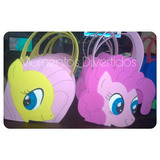 My Little Pony Bolsitas Golosineras Goma Eva Infantiles