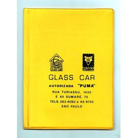 Capa Porta Manual Autorizada Puma C Livreto Garantia 1979
