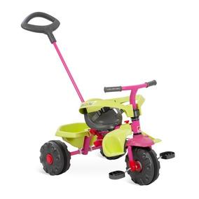 Triciclo Velotrol Smart Plus Infantil Rosa 281 Bandeirante