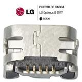 Pin De Carga Conector De Carga Lg Optimus G E970 E977
