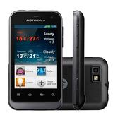 Celular Motorola Defy Mini Xt321 Dual Preto 3g I Vitrine