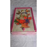 Jabones Decorados En Caja De Madera Decoupage Artesanal Deco