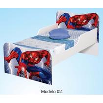 Cama Para Criança Homem Aranha