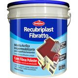 Impermeabilizante Recubriplast Fibrato Cor Telha 12kg