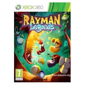 Rayman Legends Xbox 360 , Lacrado Novo Frete Grátis Brasil