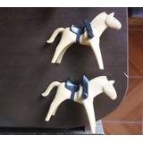 Cavalos Com Sela - Playmobil Western