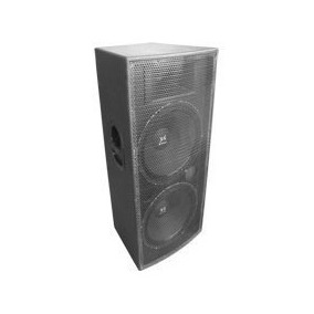Caixa Acustica De Som Dupla 2 Woofer + Driver Tree-way 15 12