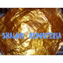*aluminio Estaño Para Estatua Del Oscar, Chocolate X Pliego*