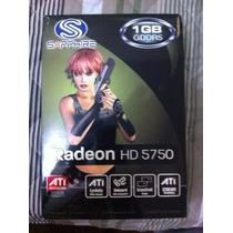 Placa De Video Ati Radeon Sapphire Hd 5750 1gb Gddr5