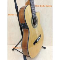 Violão Luthier Miguel Rosales Nylon Flat-c/fishman Isys