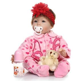 Boneca Reborn Menina Menor Preço Parece Bebe De Verdade