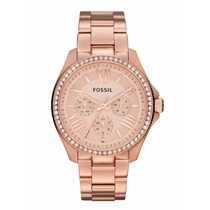 Reloj Fossil Am4483 Oro Rosa Dama 100% Original Envío Gratis