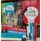 John Green Combo Los 4 Libros Bajo La Misma Estrella Ciudade