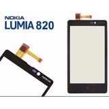 Tela Touch Nokia Lumia 820 N820 Vidro + Aro + Garantia