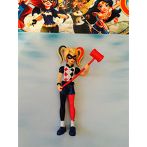 Dc Super Hero Girls Kit Com 6 Personagens