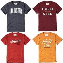 Camisetas Hollister Importadas Originais Masculina Promoção