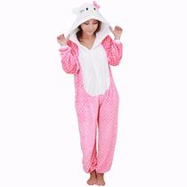 Pijama Hello Kitty Calientita Y Suavecita Para Niña O Adulto