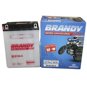 Bateria Convencional Cbr 450 Sr Original Brandy B12a