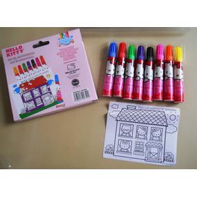 Premios Para Fiesta De Hello Kitty Crayón, Plumones Chococat