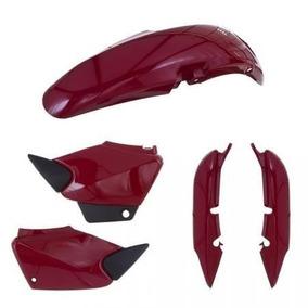 Kit Carenagem P/ Titan Cg 125 Ano 2000 2001 2004 - Vermelho