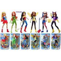 Dc Super Hero Girls Muñecas De 30 Cm Coleccion De 6 Figuras