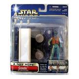 Star Wars Saga A New Hope- Greedo W/cantina Bar !