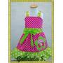Vestido Inspirado: Disfraz Bebe Y Niña Frutillita.