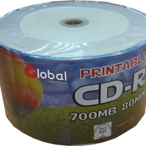 Cd Printable Global Bulk X 50 - Oferta Increíble