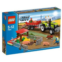 Juguete Lego City Set #7684 Pig Farm & Tractor
