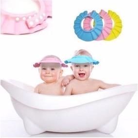 Gorra De Baño Para Bebe Medida Ajustable Color Rosa