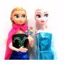 Muñecas Frozen Elsa+ Anna 30cm Música Libre Soy Artic+cartas