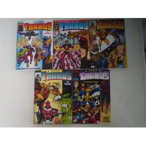 Fac-símile A Saga De Thanos Coleção Completa!
