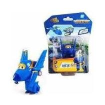 Super Wings Discovery Kids - Mini Jerome - Avião Transformer