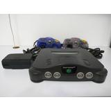 Nintendo 64 Con 6 De Los Mejores Juegos Y Muchos Accesorios