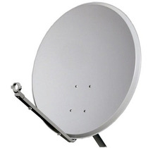 Antena Ku 60cm Sem Logo+lnbf Single Ku +kit C/20mts Cabo