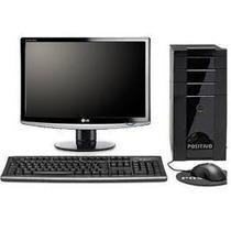 Computador Intel Core + Monitor 17 De Lcd Com Wifi