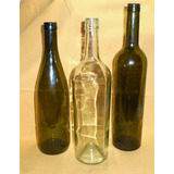 M7 Botellas Recicladas De Vino Envases Para Decoracion O Art