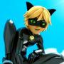 Fantasia Miraculous Lady Bug- Cat Noir Completa Adulto