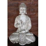 Buda Deco, Zen, Meditación,grande 33cm Para Exterior