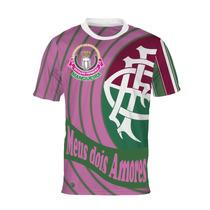 Camisa Meus Dois Amores - Mangueira E Fluminense