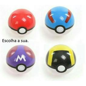 Pokémon - Pokebola, Great Ball, Hultra Ball, Master Ball Uni