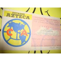 America Guadalajara Boleto 17-ago-86 Coleccion