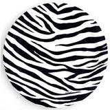 Platos Desechables Pequeño Animal Print Cebra